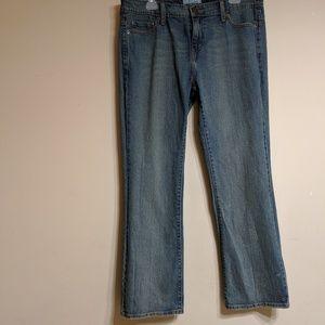 Levi's women's low boot cut jeans size 14M